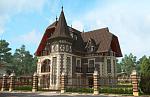 Коттедж в готическом стиле Всеволожск