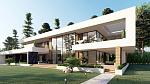 Загородный дом в стиле Модернизм